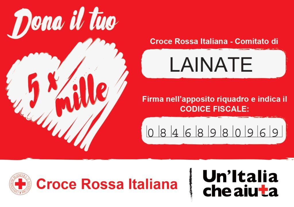 5x1000 donazione Croce Rossa