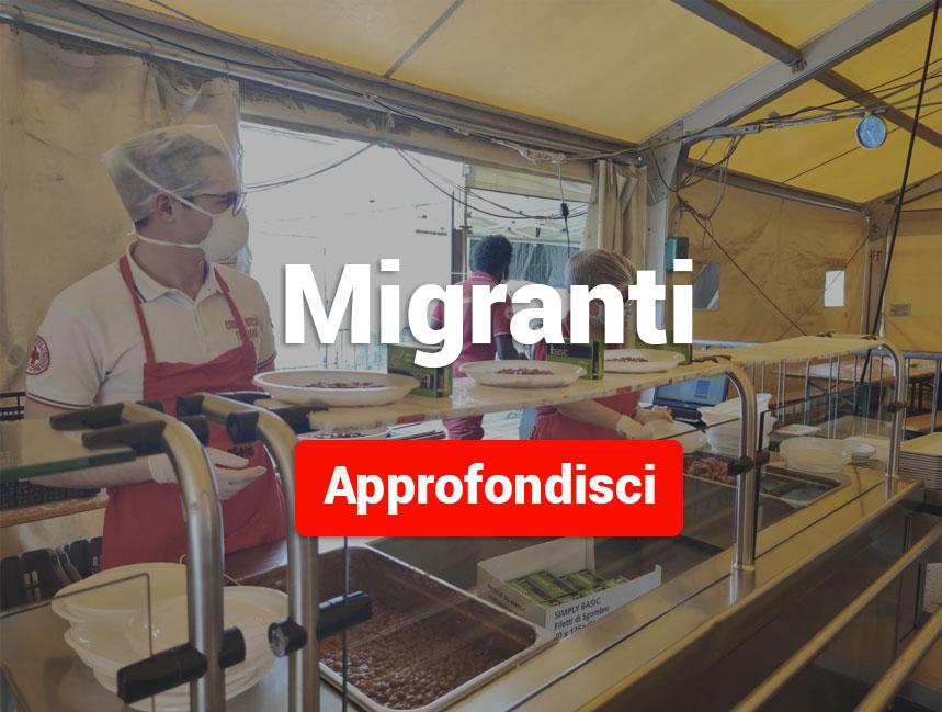 servizio di assistenza migranti croce rossa italiana