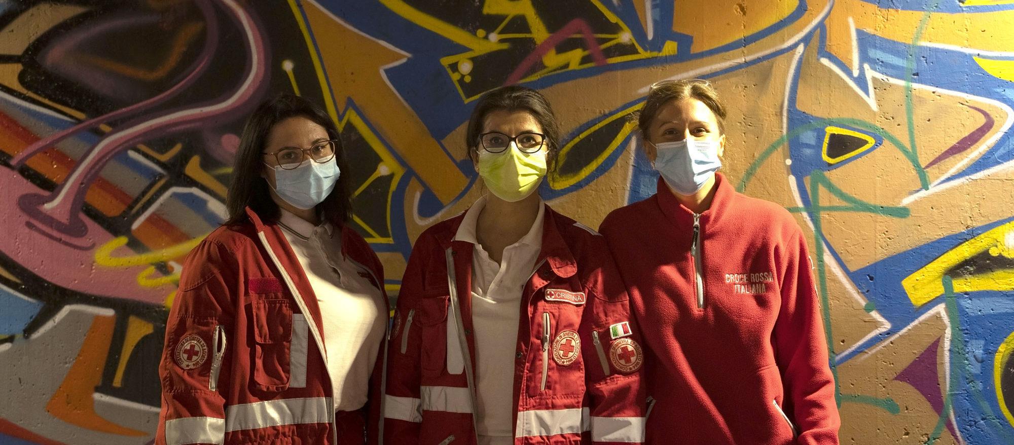 storie di volontari della Croce Rossa di Lainate