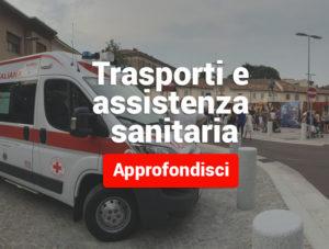 Trasporti sanitari Croce Rossa